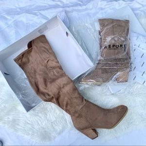Report Melvin Over the Knee Boot NIB